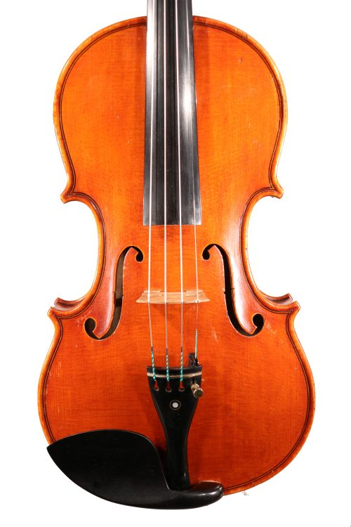 Italian Violin by Paolo Barbieri Genoa 1931 for sale at Bridgewood and Neitzert London