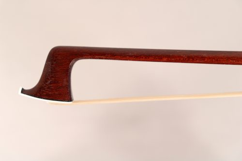 Violin bow by Louis Morizot, Mirecourt c.1920 for sale at Bridgewood and Neitzert London