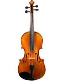 Grade 4/4 violin antiqued varnish for sale at Bridgewood and Neitzert London