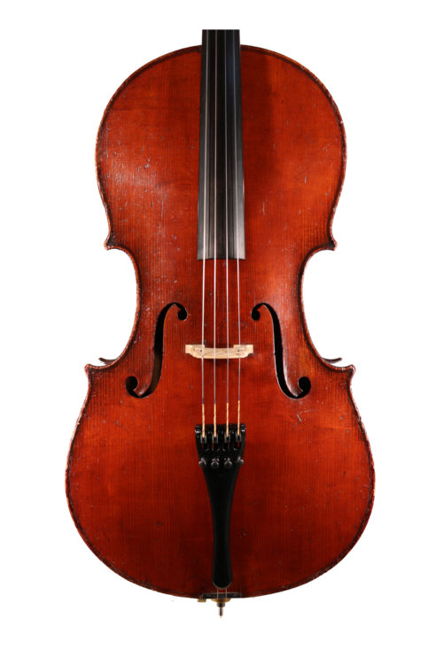 3/4 German cello for sale at Bridgewood and Neitzert London