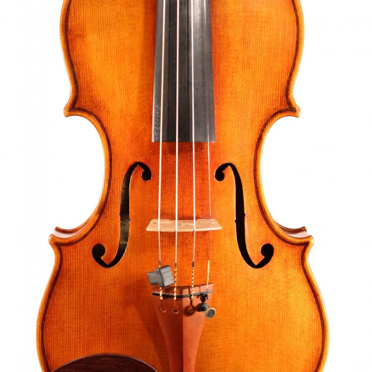 Violin by William Luff London 1986 for sale at Bridgewood and Neitzert London