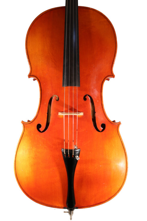 Cello German c.1920 for sale at Bridgewood and Neitzert London