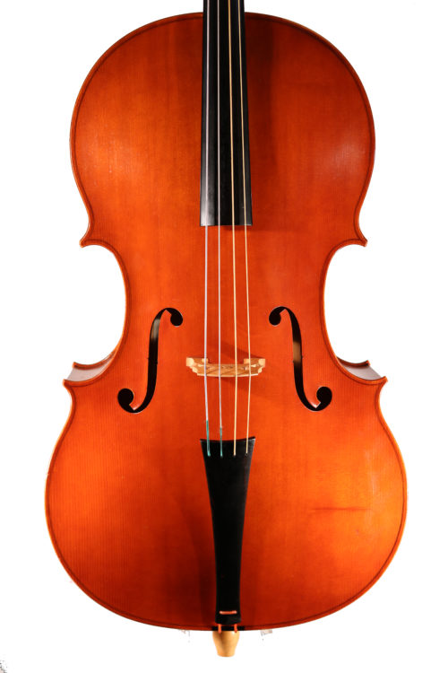 Classical/late baroque cello by Shem Mackey 1999 for sale at Bridgewood and Neitzert London