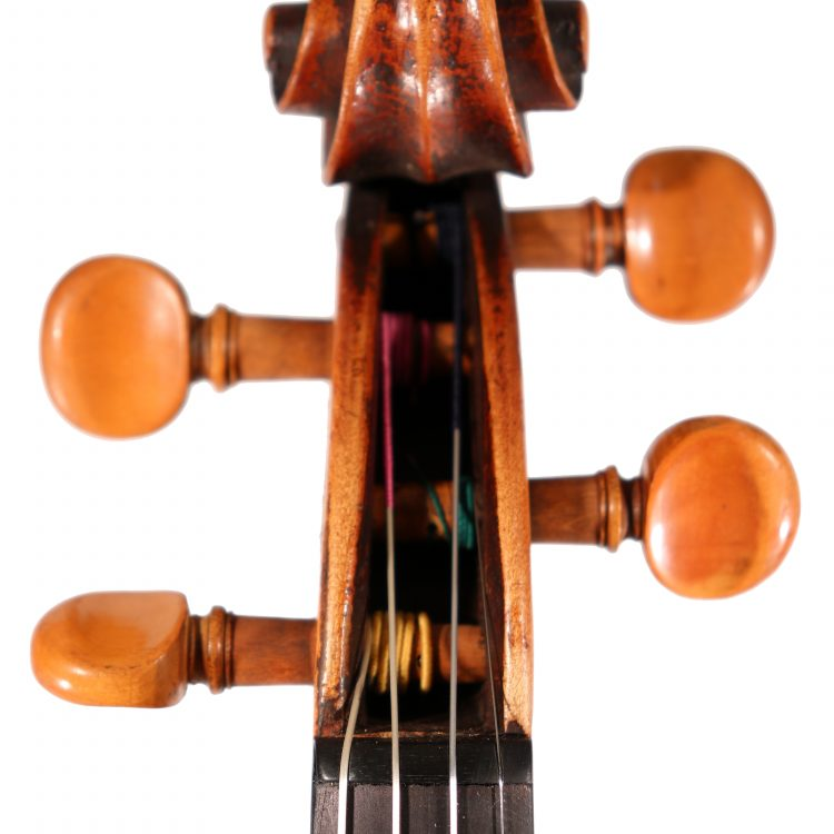 French Caussin Vosges violin c.1900 for sale at Bridgewood and Neitzert London