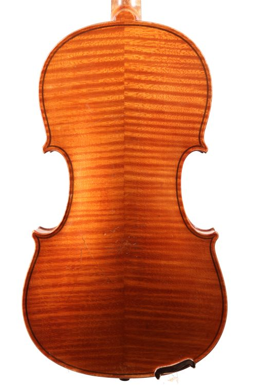 "German Violin labelled ""Carl Meyer"" c.1900 for sale at Bridgewood and Neitzert London"