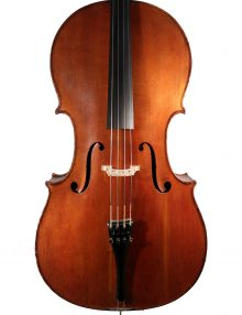 Cello by Heinrich Kessler, Mannheim c.1890 for sale at Bridgewood and Neitzert London