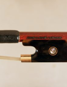 viola bow by John Maw for sale at Bridgewood and Neitzert London