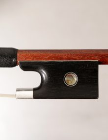 Karl Wilhelm Knopf Violin Bow c.1860 for sale at Bridgewood and Neitzert London