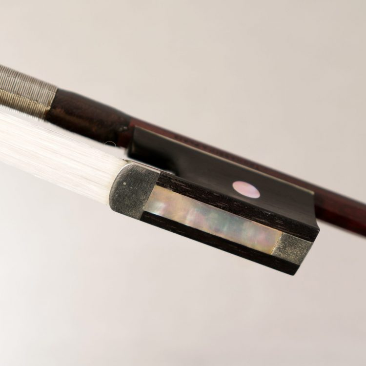 Violin bow by Claude Auguste Thomassin, Paris c. for sale at Bridgewood and Nietzert London