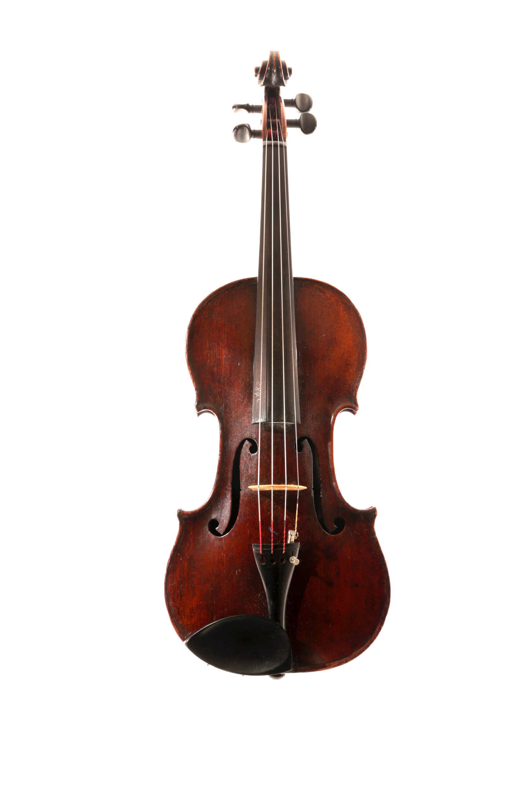 Old English viola probably by Furber London c.1860 for sale at Bridgewood and Neitzert