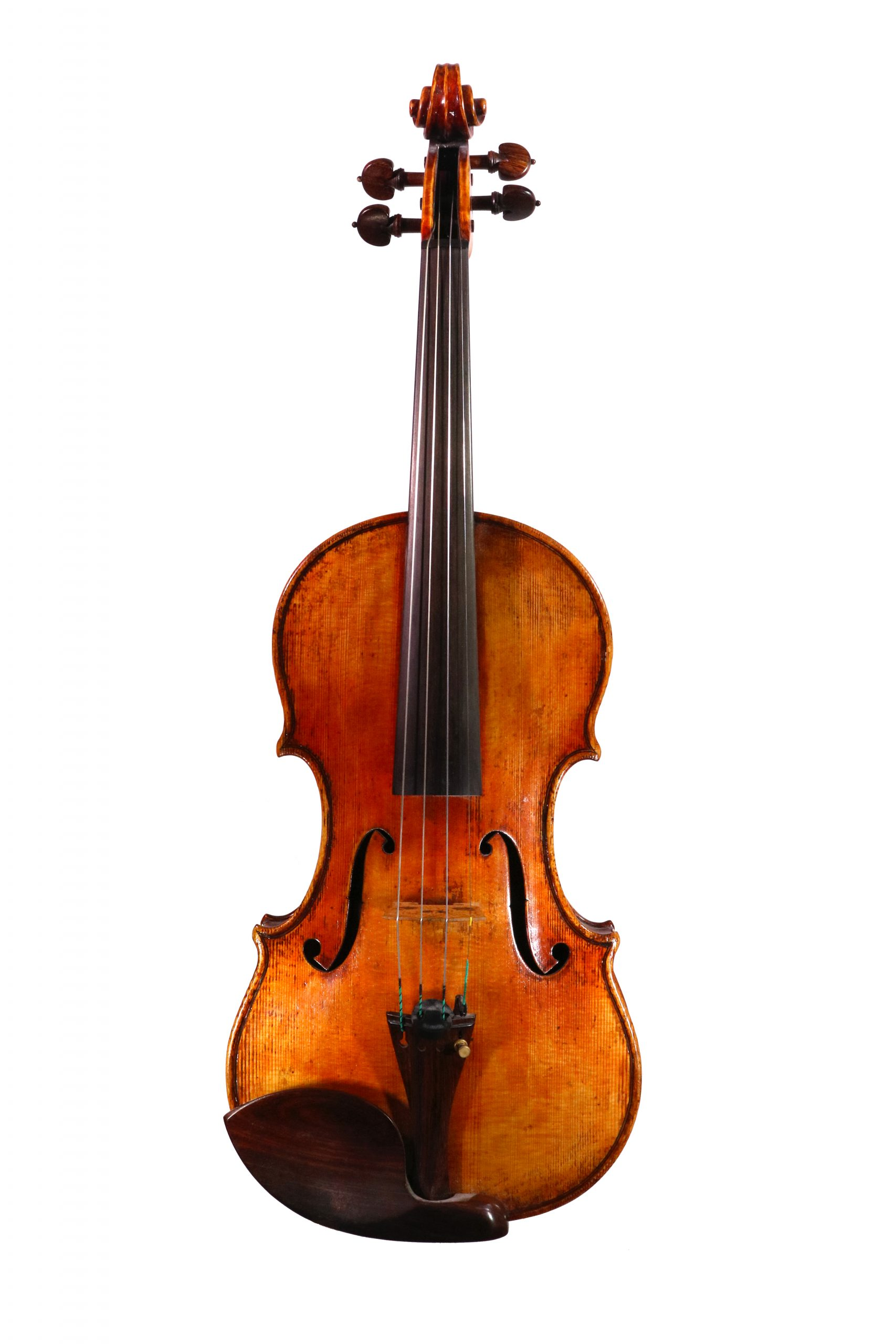 Fine violin by Paul Harrild available for sale at Bridgewood and Neitzert London