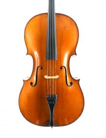 Fine old English cello for sale at Bridgewood and Neitzert London