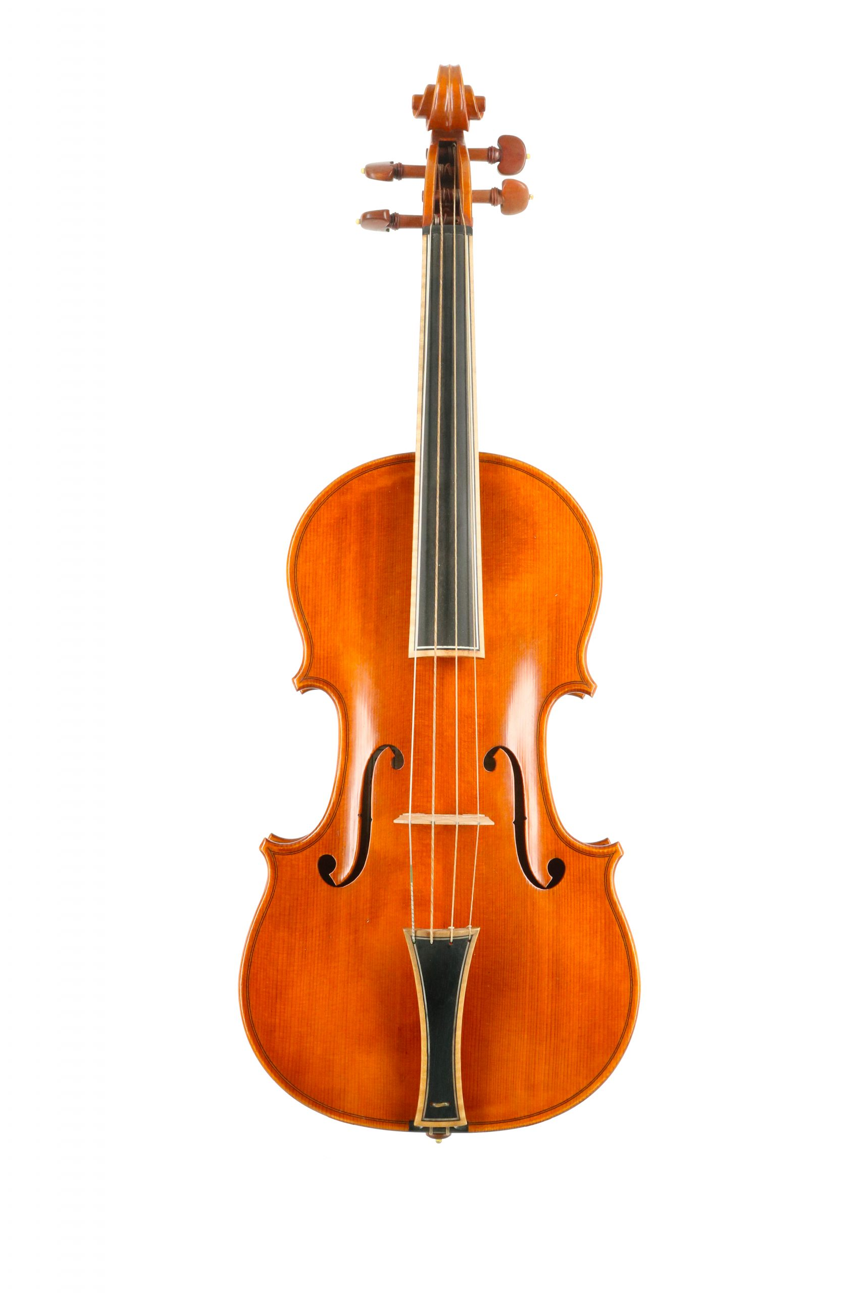 Fine baroque violin by Roger Hansell available for sale at Bridgewood and Neitzert London