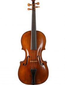 German baroque violin 1780 available for sale at Bridgewood and Neitzert London