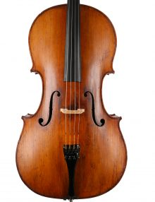 Fine French cello c.1890 for sale at Bridgewood and Neitzert London